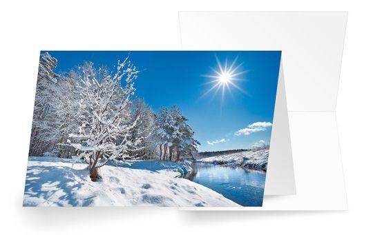Strahlender Wintertag