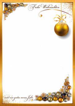 Prachtvolle Weihnachtskugeln