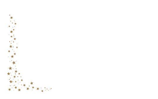 Kartenkuvert, Sternenregen (selbstklebend)